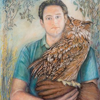 Boy with Owl